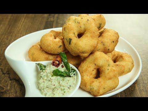 How To Make Crispy Medu Vada | Medu Vada Chutney Recipe | South Indian Recipes | Varun Inamdar