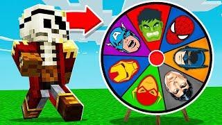 KOŁO FORTUNY SUPERBOHATERÓW - Minecraft: Przygody z Flotharem #1