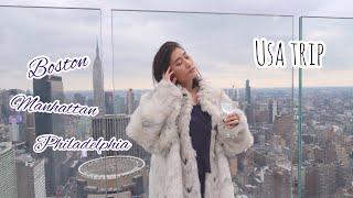 Gambar cover 波士頓, 曼哈頓 & 費城☝a winter trip in the USA