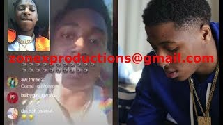 "NBA Youngboy & Fredo Bang FACE TIME each other""u goin to pay for wut did gee money"""