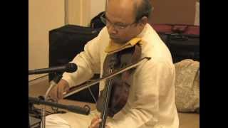 Raag Jog on violin