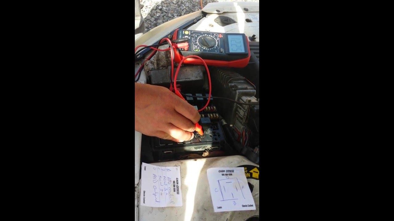 ASD test Chrysler Sebring 2 7 2001