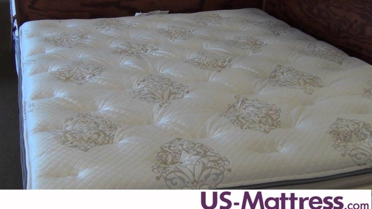 Simmons Beautyrest World Class Corita Plush Super Pillowtop Mattress  YouTube