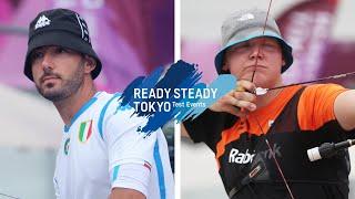 Mauro Nespoli v Sjef van den Berg – recurve men 3rd round | Tokyo 2020 Olympic Test