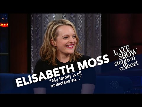 Elisabeth Moss Describes A 'Fictional' Totalitarian, RightWing Regime