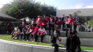 Santa ana high school band 2012-2013