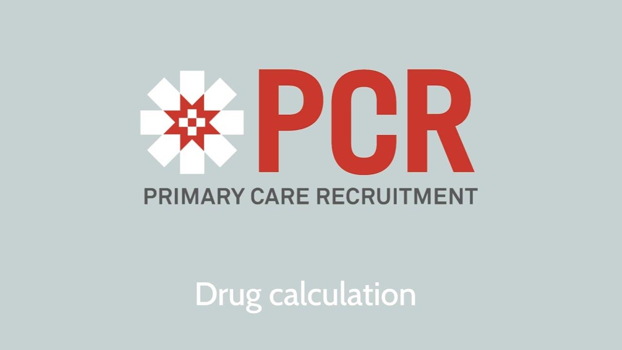 Drug Calculation - Interview preparation for nurses 05