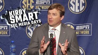 Kirby Smart talks about time at Alabama,  learning from Nick Saban