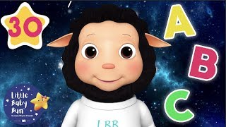 Learn ABCs In Space   +30 Minutes of Nursery Rhymes   Learn With LBB   #howto