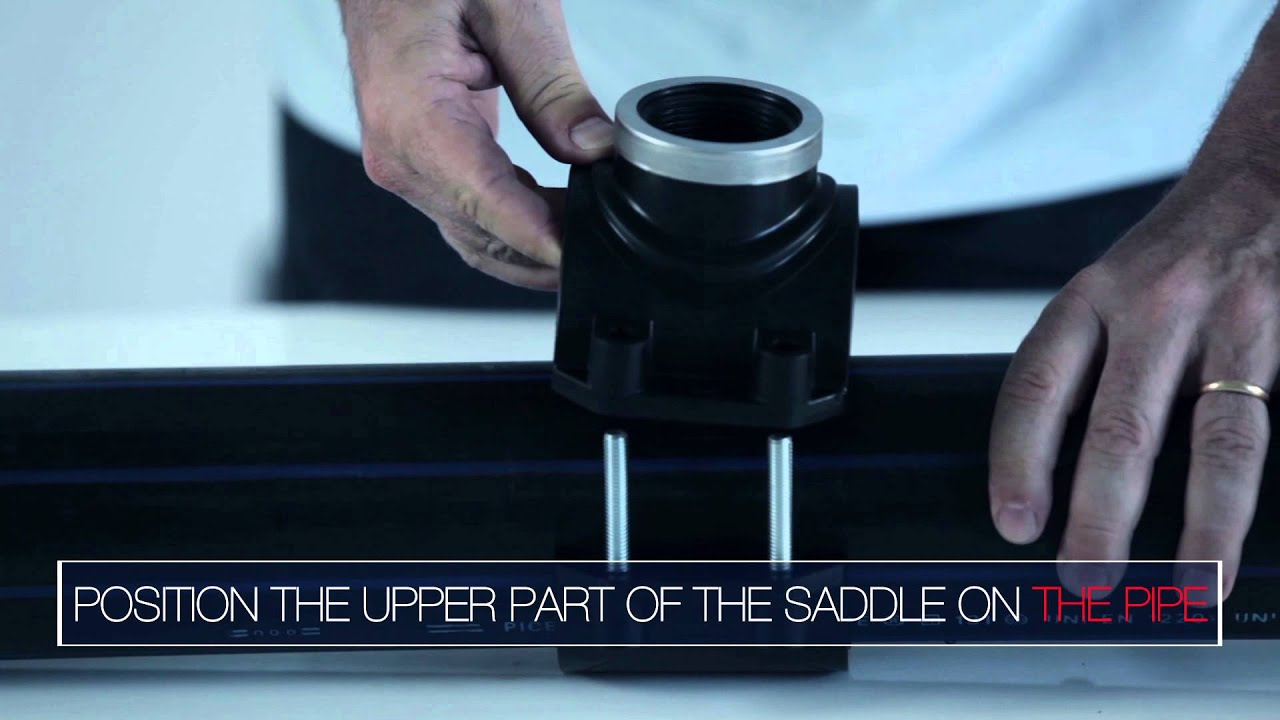 Spears v csr series cpvc clamp on saddle with viton o ring