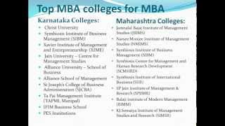 Top MBA colleges of INDIA MBA Admissin Through Management Quota