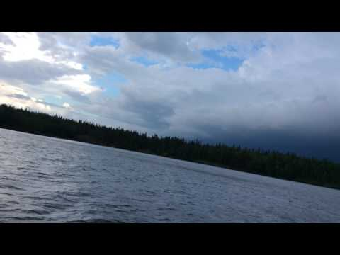 Big Thunder Storm Coming In Poplar Hill Ontario