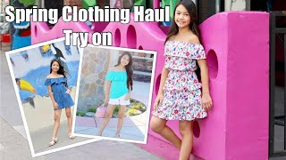 SPRING CLOTHES HAUL | TRY ON!