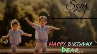 Sister Birthday Wishes Tamil Song Youtube
