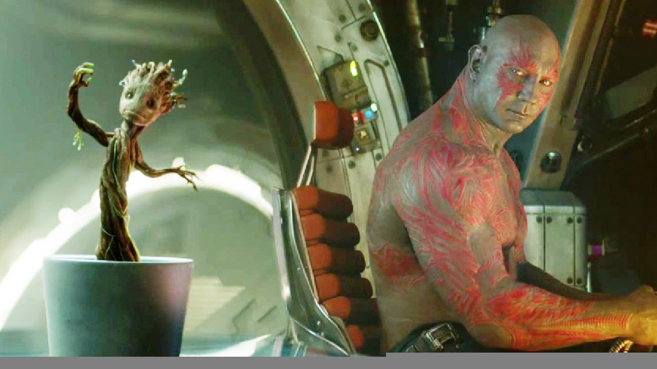 Guardians Of The Galaxy Baby Groot Clip Youtube