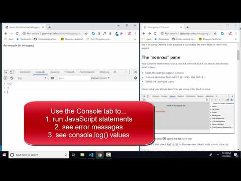 javascript.info The Modern JavaScript Tutorial 3.1 Debugging in Chrome thumbnail