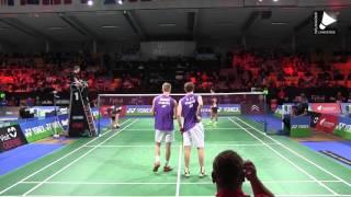 M. Boe / C. Mogensen vs V.S Goh / W.K. Tan - MD [Denmark Open 2015]