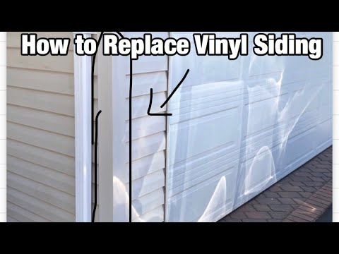 How To Replace Vinyl Siding Outside Corner Youtube