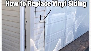 How to Replace Vinyl Siding Outside Corner