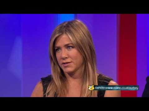 Jennifer Aniston BBC The One Show 2016