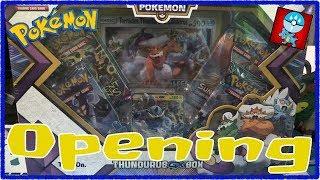 Pokemon TCG: Sun & Moon: Opening A Thunderus GX Box!