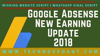 Google Adsense New Earning Update October 2018🔥Wishing Website Script🔥Whatsapp Viral Script