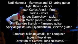 """Raúl Mannola Sextet - In Concert"" ,  Savoy Theatre, Helsinki"