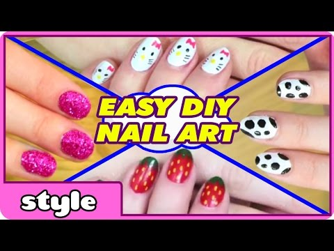 DIY Nail Art Without any Tools | Top 10 Nail Art Designs | Easy Nail Art For Beginners