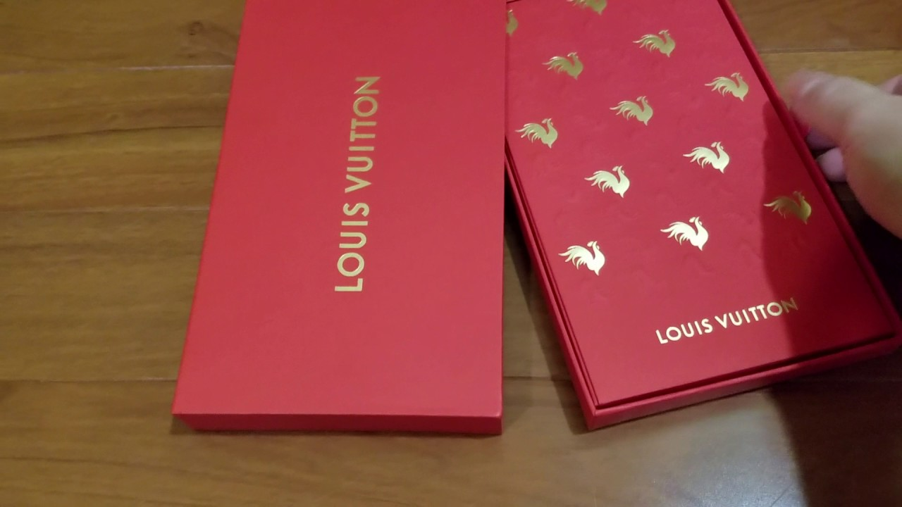 Louis Vuitton Lunar New Year gift from Louis Vuitton 2017 Year of