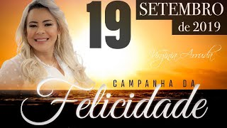 19Setembro2019 -  A Palavra do Dia - Campanha da Felicidade - 1Reis17:8-14 - Bispa Virgínia Arruda