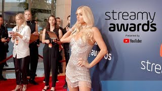 Paris Hilton at the Streamy Awards 2019