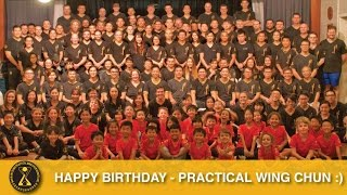 Happy Birthday Practical Wing Chun Australia (Qld)