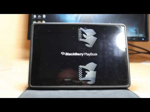 Hard factory reset to Blackberry playbook