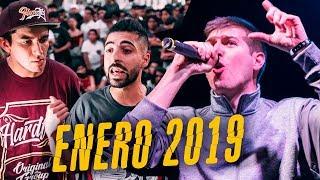Las MEJORES RIMAS del MES de ENERO 2019 - ¡INCREÍBLE! | Batallas de Gallos (Freestyle Rap)