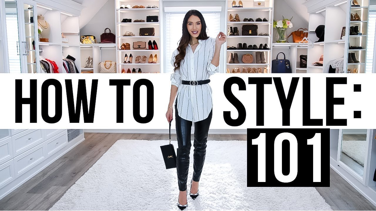 How To Style An Outfit 101 *life-changing formula*
