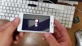 LG E450 форматирование