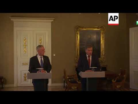 Mattis in Helsinki to begin week of talks with Nordic countries