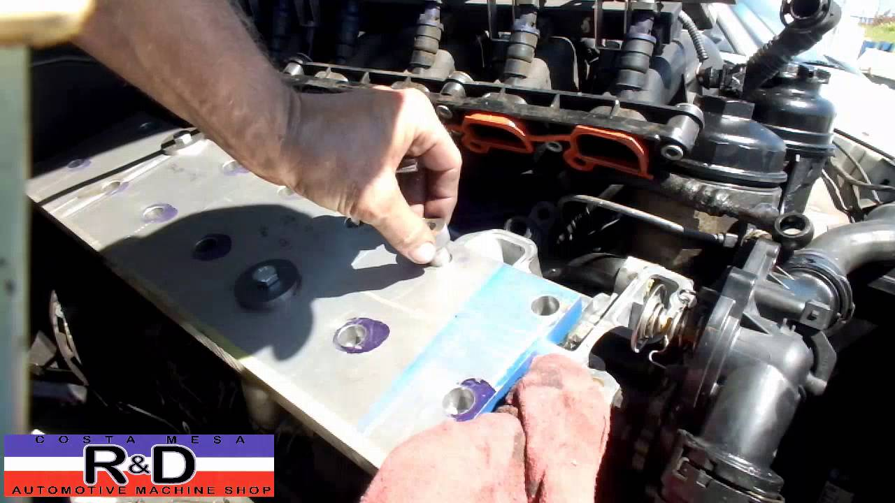 Bmw Stripped Head Bolt Repair Youtube