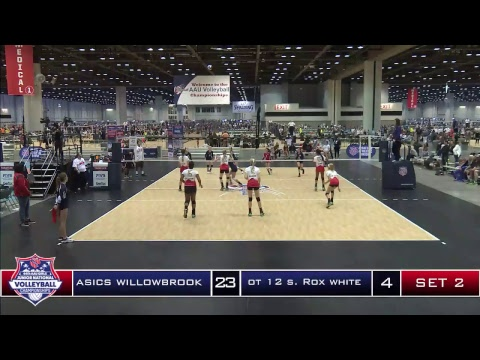 June 16, 2017: Court 42 AAU Volleyball Nationals