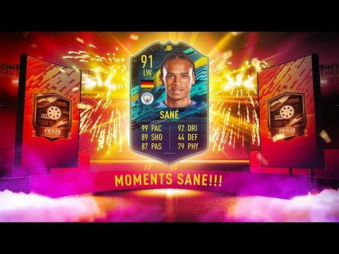 PLAYER MOMENTS LEROY SANE! w/ NO EXPIRY DATE! - FIFA 20 Ultimate Team