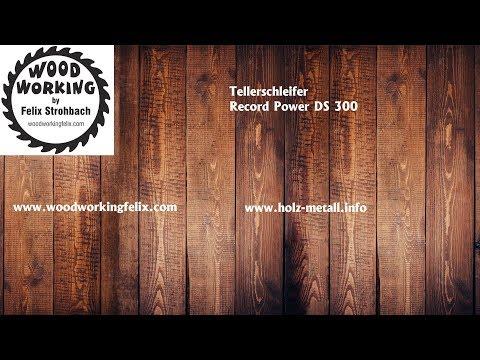Tellerschleifer Record Power DS 300