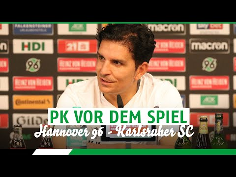 RE-LIVE: PK vor dem Spiel | Hannover 96 - Karlsruher SC