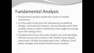 Technical and Fundamental Analysis of Forex Trading.wmv