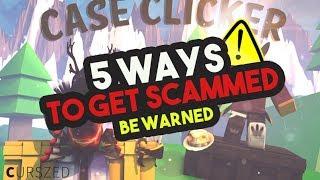 [Roblox] Case Clicker: 5 WAYS COME OTTIENI SCAMMED CON EVEN NOTICING! (Attenzione)
