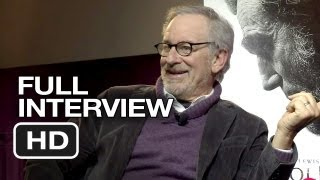 Lincoln Q&A - Full Interview (2012) - Steven Spielberg, Daniel Day-Lewis Movie HD