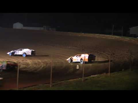 Midway Speedway Modified Heat Race 10-1-2016