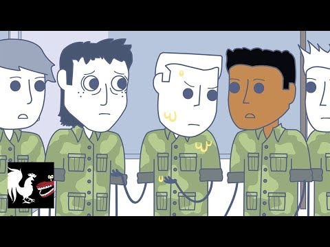 Peeing Private Ramsey - Rooster Teeth Animated Adventures