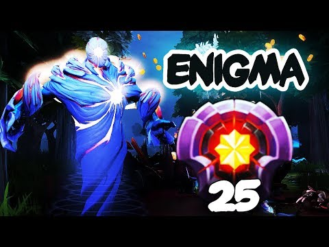 BEST ENIGMA IN DOTA 2?! LEVEL 25 DOTAPLUS EPIC GAMEPLAY, 5 Man Black Hole Dota 2 thumbnail