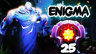 BEST ENIGMA IN DOTA 2?! LEVEL 25 DOTAPLUS EPIC GAMEPLAY, 5 Man Black Hole Dota 2