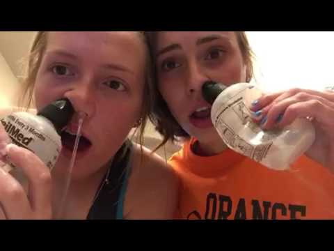 How to clean your nose the right way!!!!!!!!